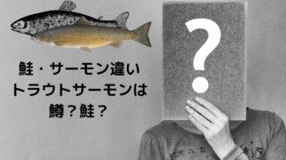 鮭・サーモン違い